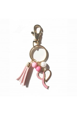 KEY CHAIN PINK CUORE
