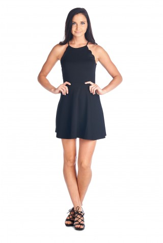 VESTIDO LITTLE WAVES