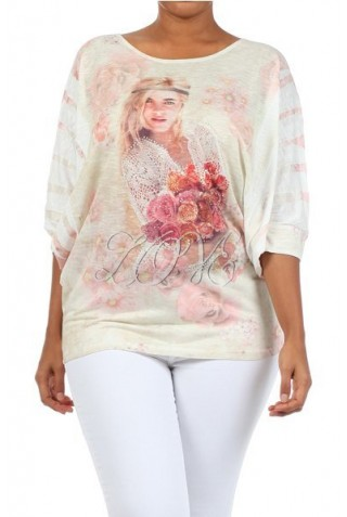 BLUSA LOVE ROSES